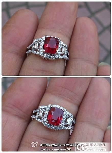 《你最珍贵》 2.02ct 天然红宝石戒指 _宝石