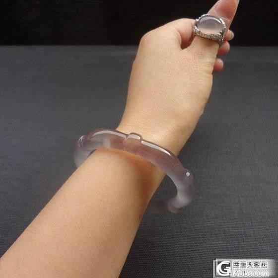 我的紫玉髓竹节玛瑙_玛瑙