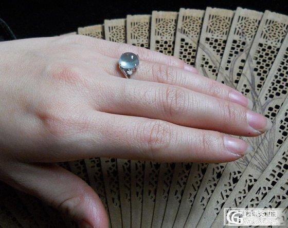 银戒指+银手链+银项链 附个戒面特写_银