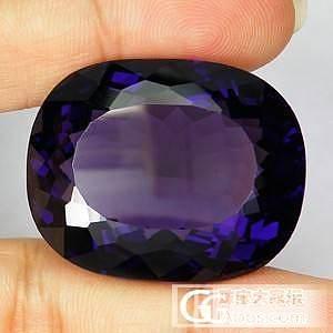 紫水晶 80.38CT 不算大吧!_水晶