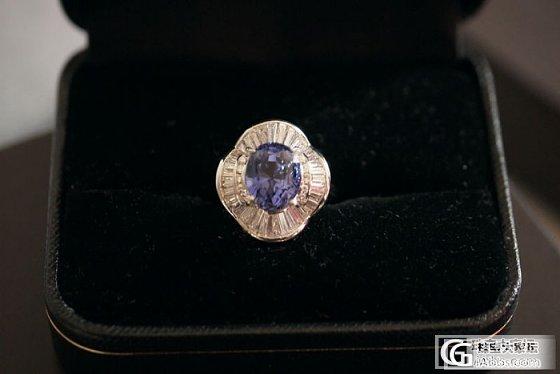 6.7克拉的无烧蓝宝戒指。。。_蓝宝石