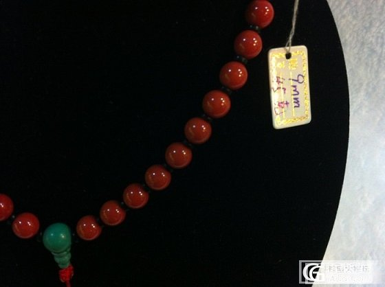 9mm圆珠项链_有机宝石