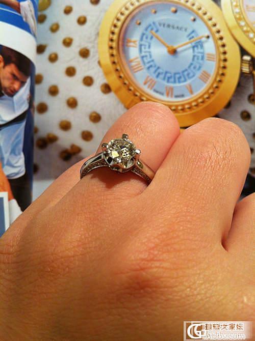 想改掉的结婚戒指,上海转了一圈还是回来了~_钻石