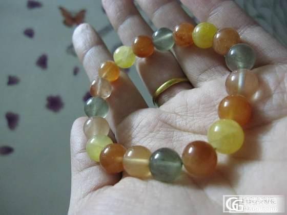 转入门级绿幽灵手链和福禄寿手链各一枚_宝石