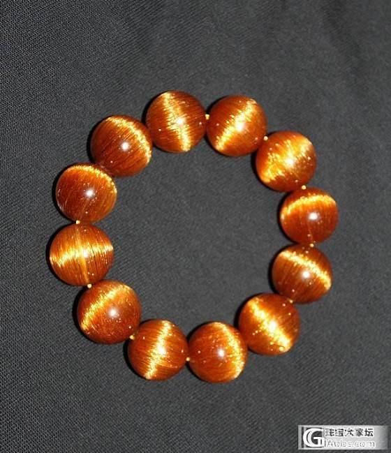 跟了我多年的顺铜发晶手链_宝石
