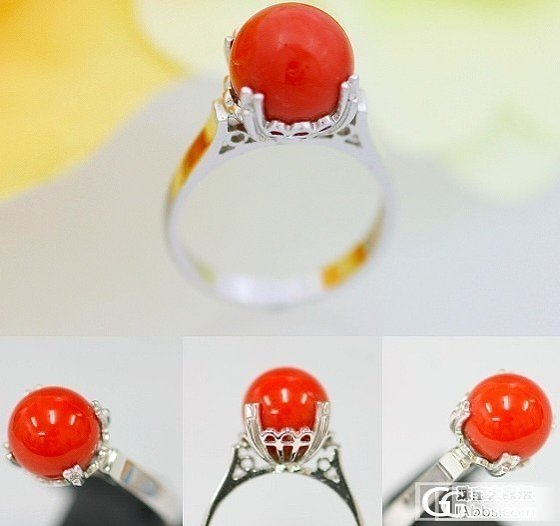 这个戒指什么价格合适呢?在我犹豫期间,此戒指已出售。2_珊瑚