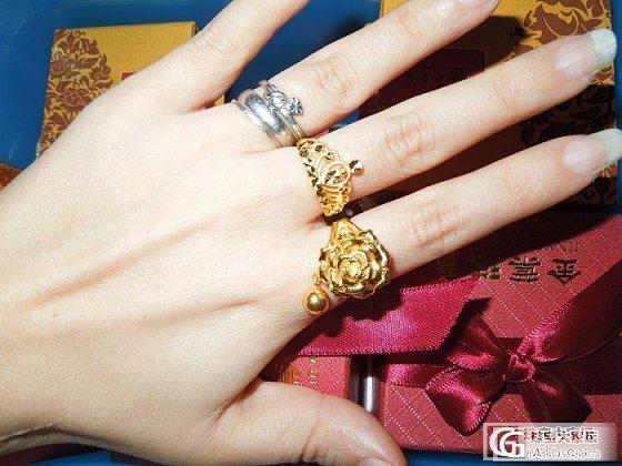 闲的无聊,主要晒手,戒指其次~~吼吼~~_戒指金