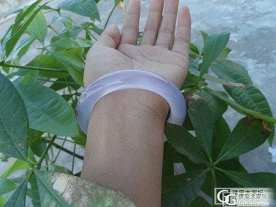 紫色圆条 漂亮不!_玛瑙