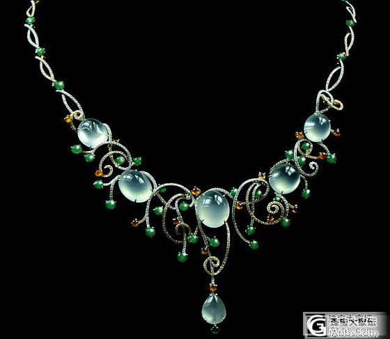发几款项链给大家看看哈_镶嵌珠宝