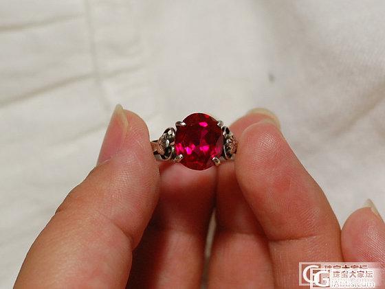 人品大爆发,捡到戒指一枚,求大师鉴定下到底是啥_名贵宝石
