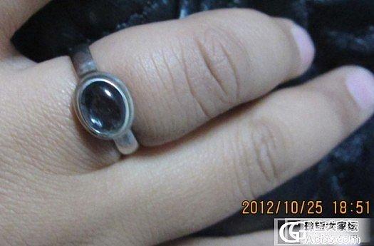 有味道的925镶碧玺戒指````````````````_银