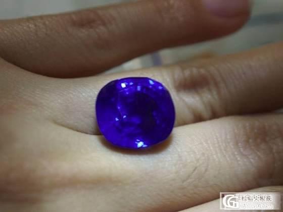 18ct完美斯里兰卡无热处理蓝宝石一颗。 瑞士宝石研究所GRS证书_宝石