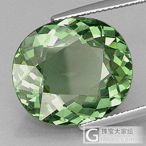 给大家发个宝石漏光的科普贴,有图对比,小白也能看得懂哦_宝石刻面宝石