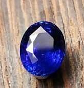 这个是标准的皇家蓝吗?火彩大家觉得怎么样?_刻面宝石蓝宝石