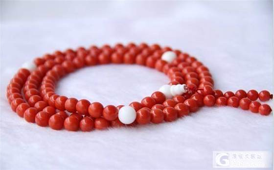 晒一款即将到手的红珊瑚佛珠手链 大神们会诊一下_珊瑚