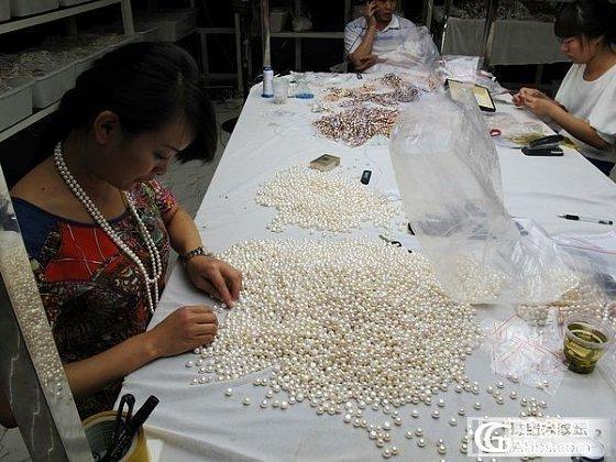 精品珍珠是如何挑出来的?--精益求精!_有机宝石