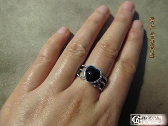 凑个热闹,也来晒我的Pandora_手链戒指银