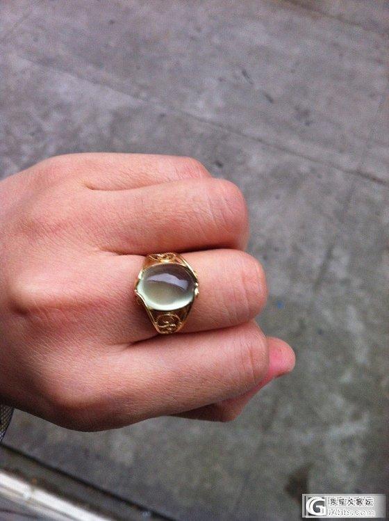 之前收的葡萄石镶嵌回来咯_葡萄石刻面宝石