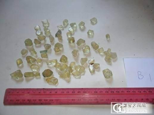 有见过的没?这可能会是什么石头?实物没这么黄_宝石刻面宝石