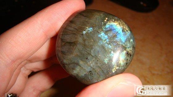 不值钱的拉长原石,哪个色彩更丰富呢?_水晶