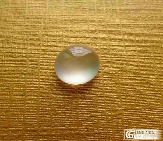 【翡翠戒面城】天然A货高冰种蛋面刚性镶嵌戒指非常漂亮_翡翠