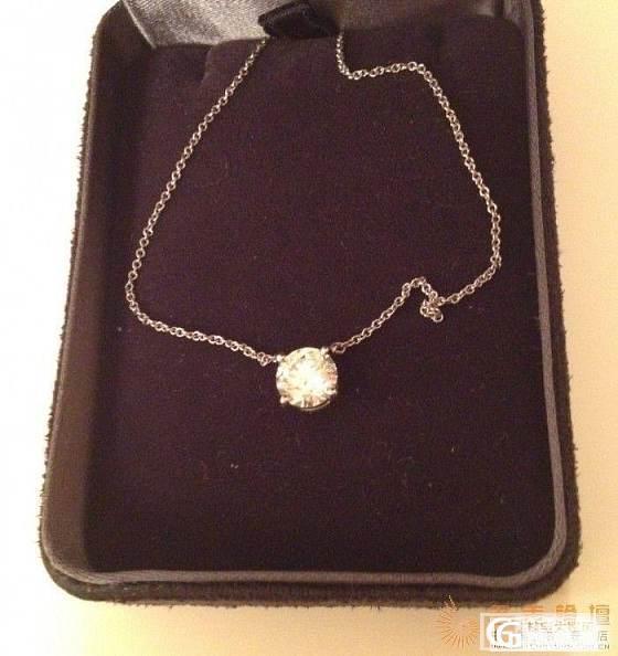 转让Tiffany 蒂芙尼1.25克拉 钻石挂坠 项链_钻石