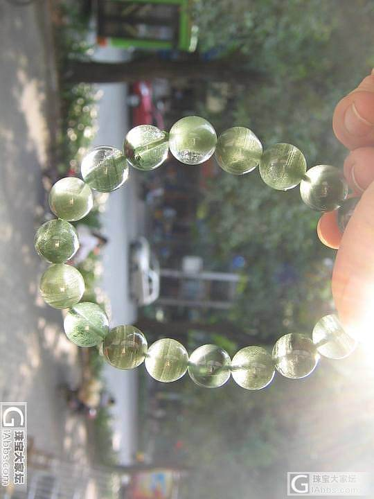 以前买的绿幽灵_幽灵晶