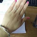 秀个今天戴的戒指