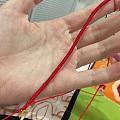 手机翻出张送人编的红绳