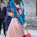 当漂亮的绣花遇到时尚……
