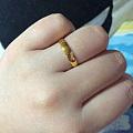 求周大福玉兰吊坠,顺出小黄金和水晶
