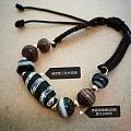 威尼斯三个古琉璃珠与贵霜帝国古玛瑙珠