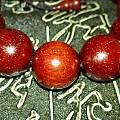 【截团】团购印度小叶紫檀老料便宜小珠子加大珠子爆满金星