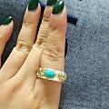 晒一个新到手的戒指