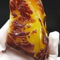 画龙点睛……一直都对原石的皮色有要求,巧妙的雕刻……收藏之作!