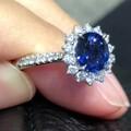皇家蓝戒指