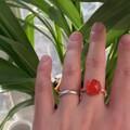 保山南红戒指