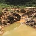 缅甸抹谷红宝石矿区原拍视频