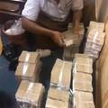 在缅甸数钱都是一捆一捆的数