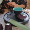今天一个人泡茶