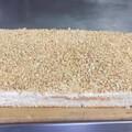 今天做的切蛋糕,真材实料,就是好吃,切成小块,每块80克,真材实料就是好吃,