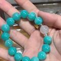 五年前买的天河石珠子