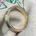 钻石戒指,精工镶嵌