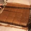今天做巧克力古早味蛋糕