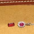 熒光紅寶和紅色尖晶(非絕地)